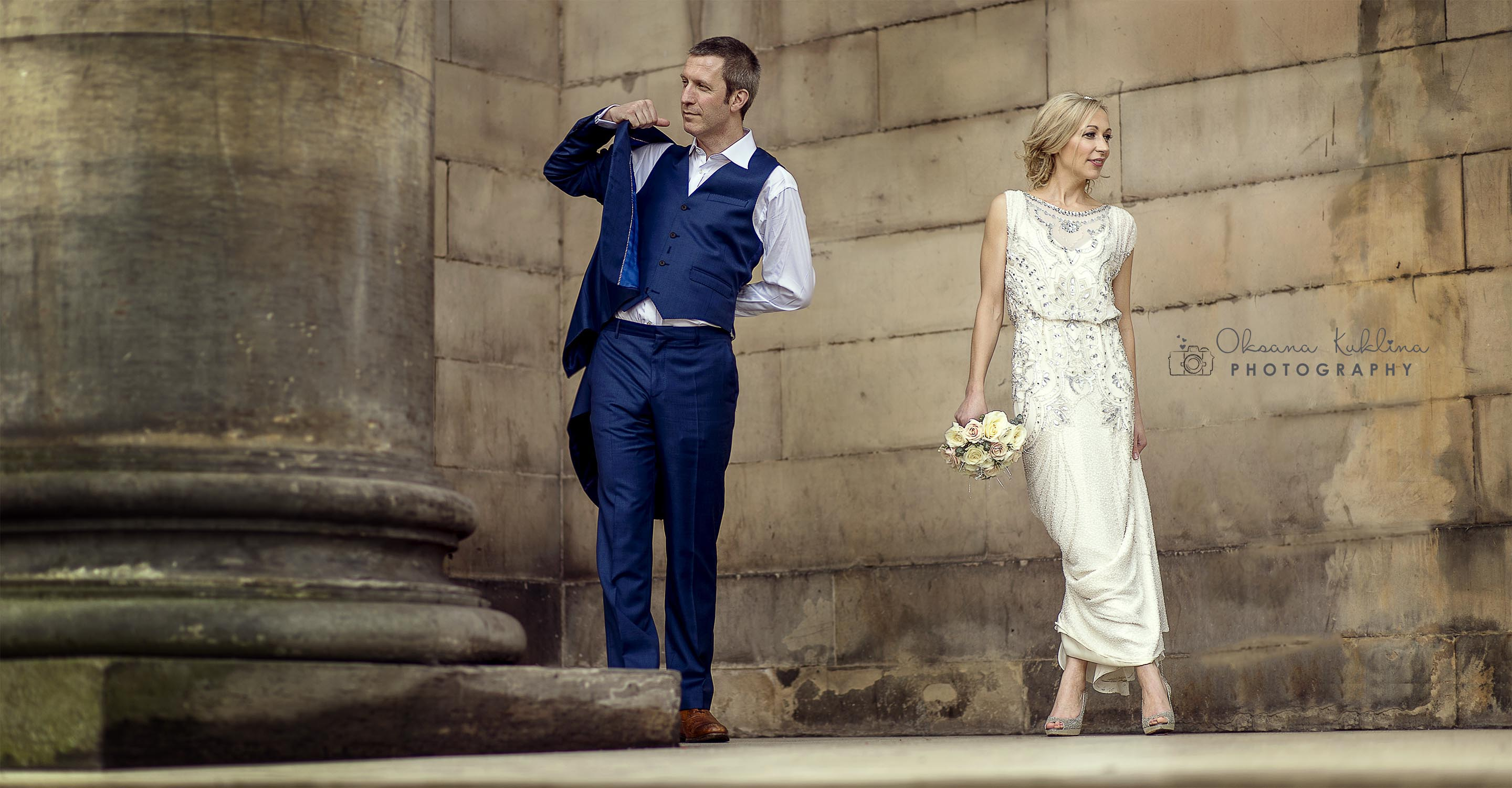 Modern Edinburgh Wedding Photographer - Ghillie Dhu Wedding Photography