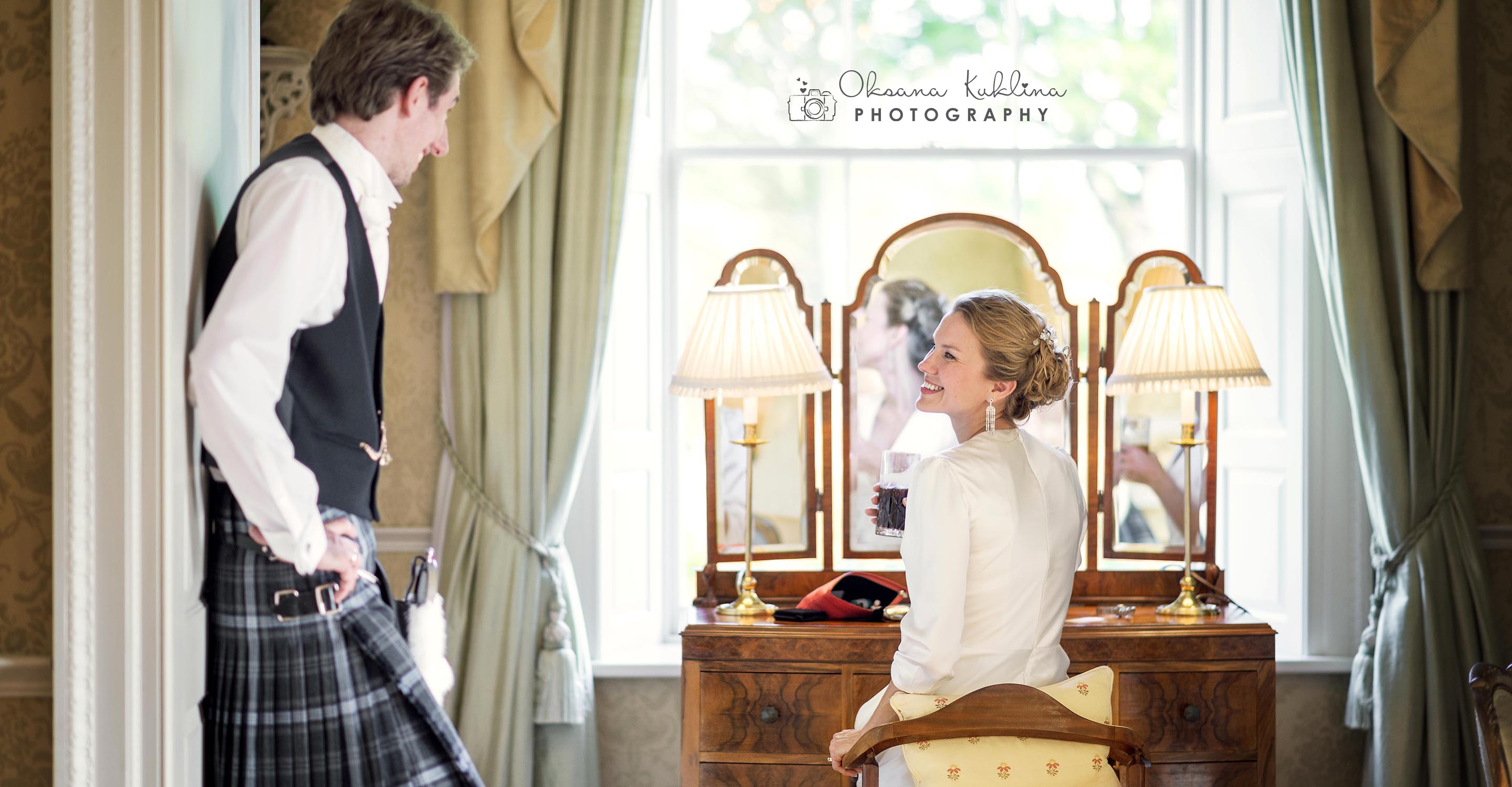 Archerfield House Wedding Photography - Creative Scotland Wedding Photographer