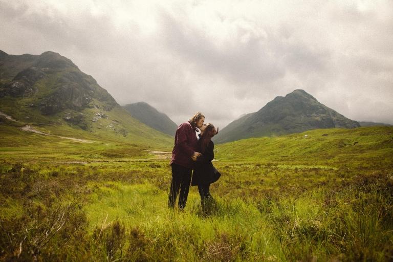 Scottish Highlands Wedding Photographer - Glencoe Love Shoot - Oksana Kuklina Photography