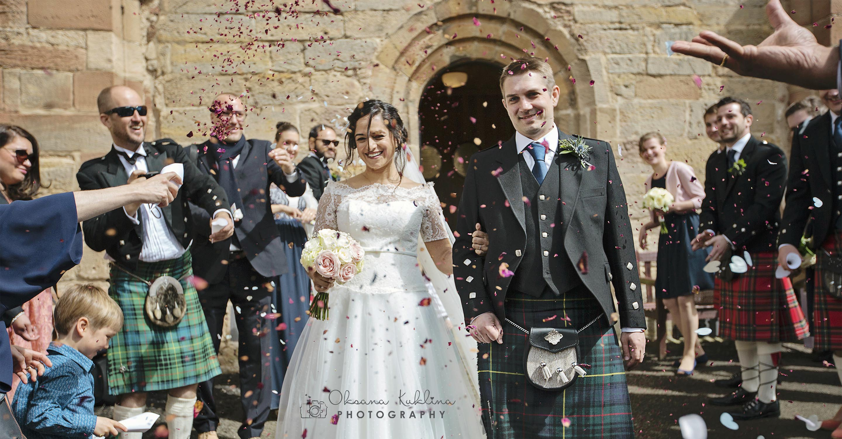 Oxenfoord Castle Wedding Photographer - Best Scotland Wedding Photography