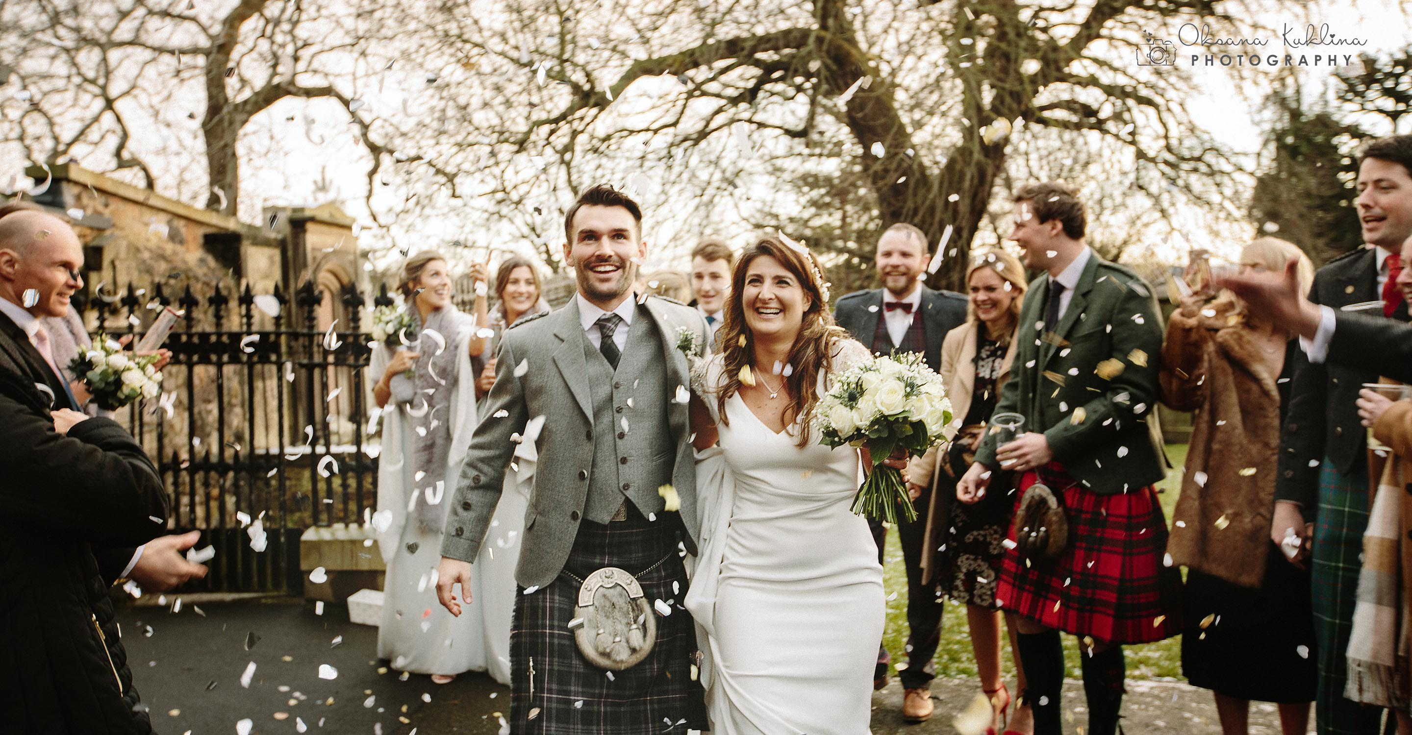 Balmoral Edinburgh Wedding Photographer - Balmoral Hotel Scottish winter wedding