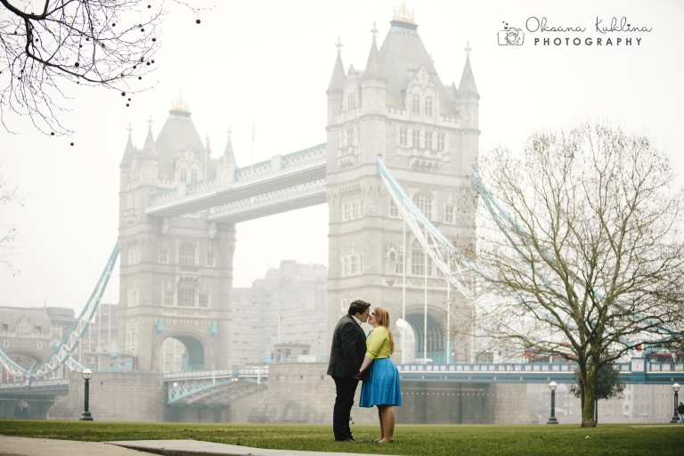 London Wedding Photographer - © Oksana Kuklina Photography - Engagement Photo Session in London