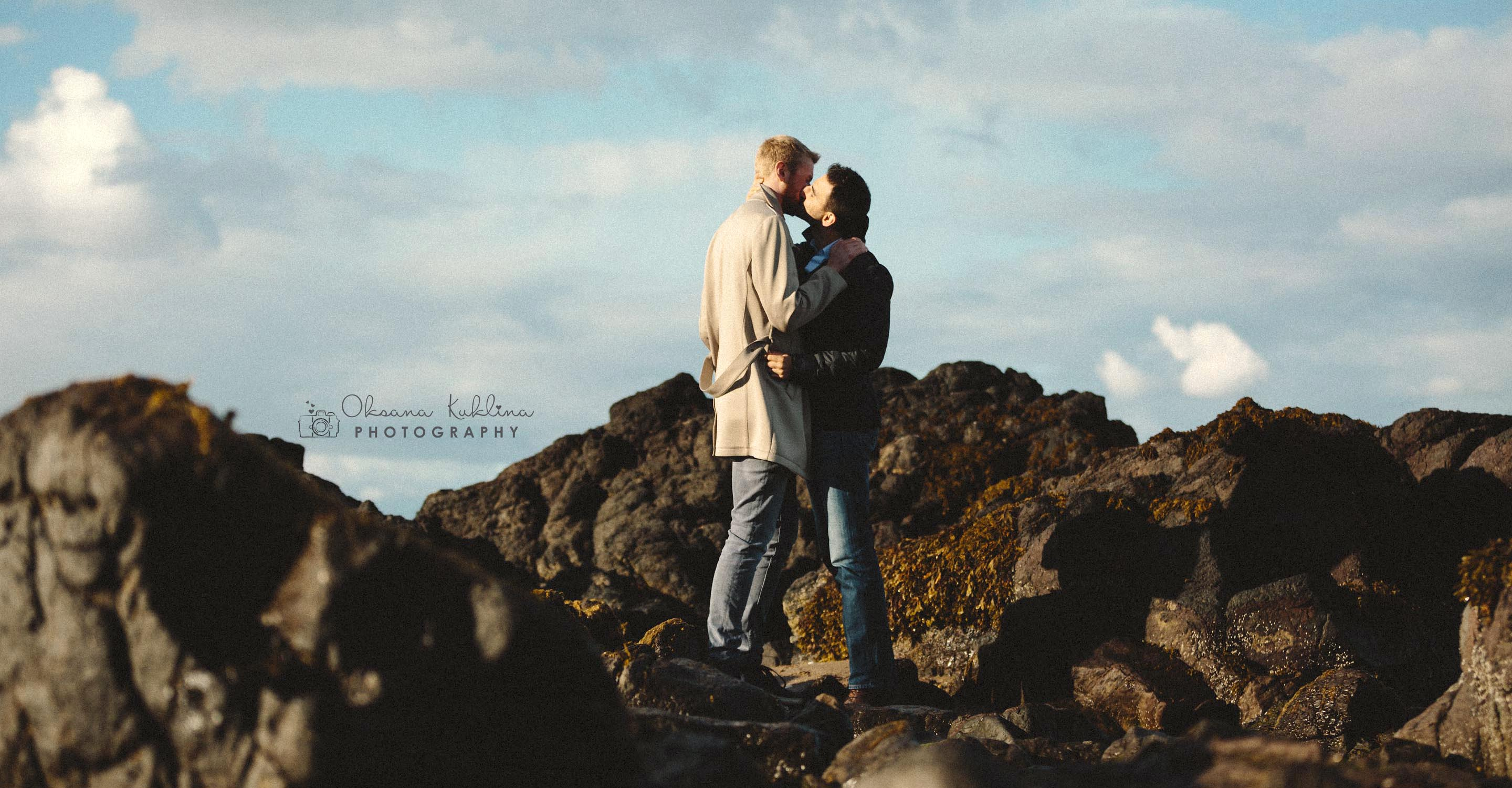 Scotland Elopement photographer - North Berwick wedding photography