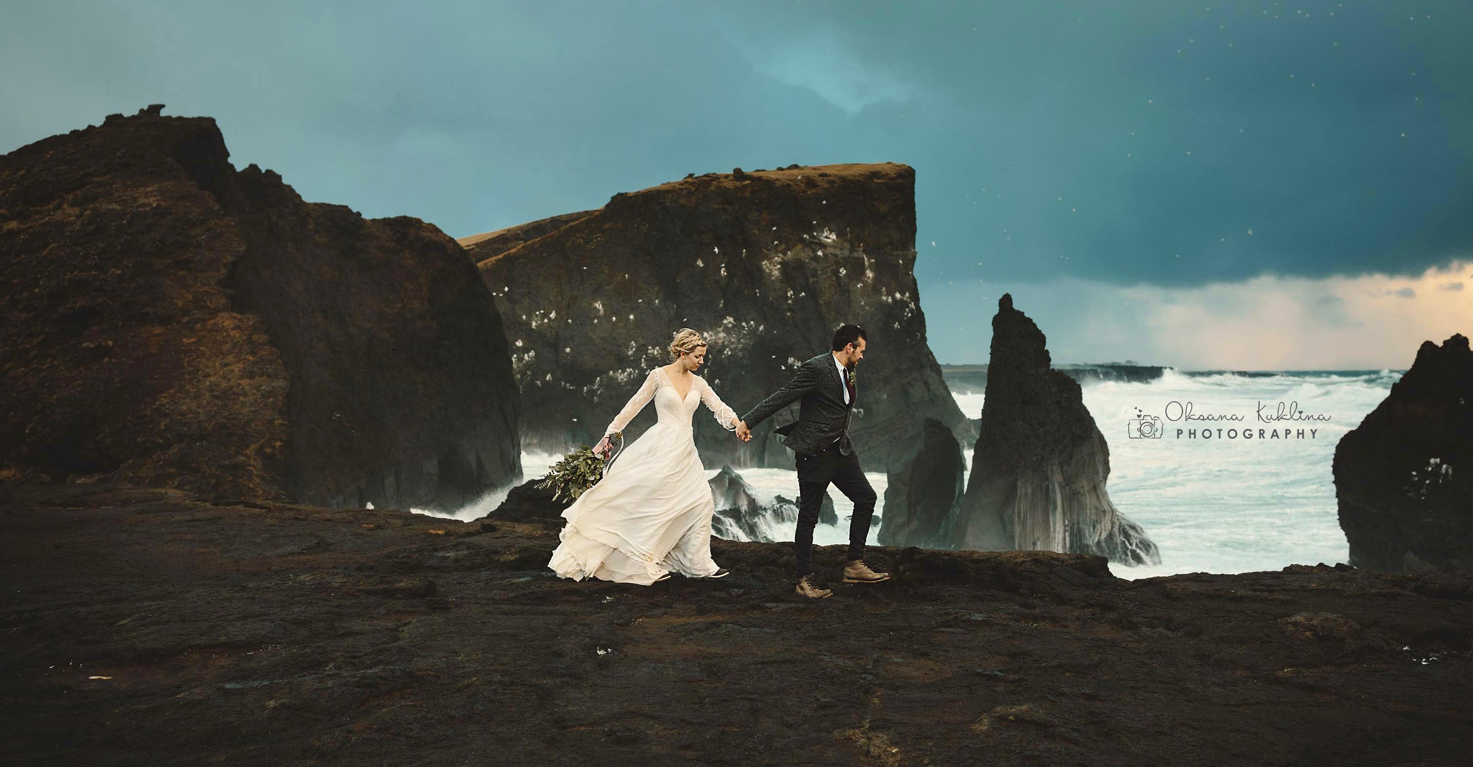 Scotland Elopement Photography - Adventurous Elopement in Iceland - Destination Wedding