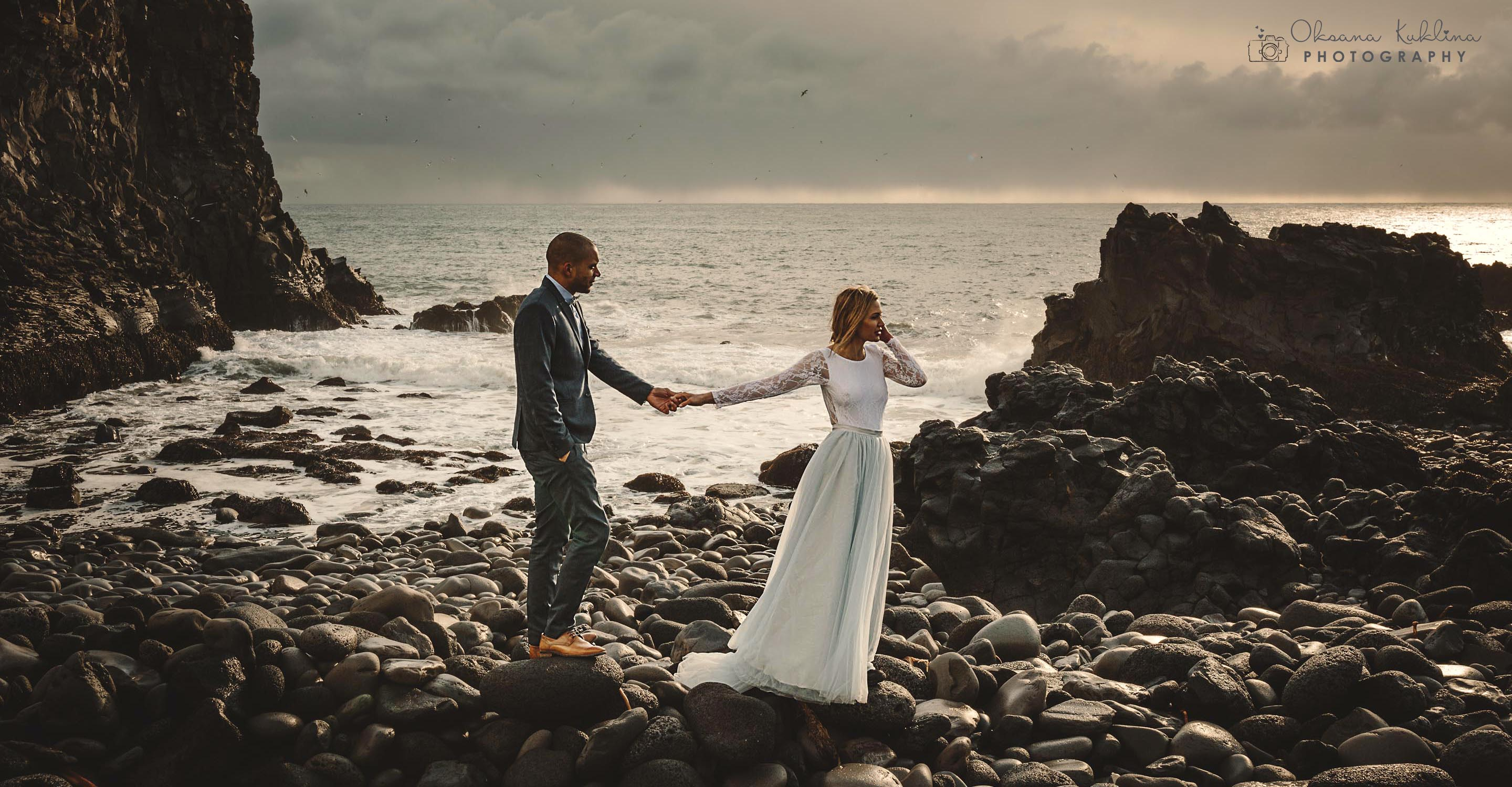 Iceland Elopement Photographer - Iceland Adventure - Destination Photographer