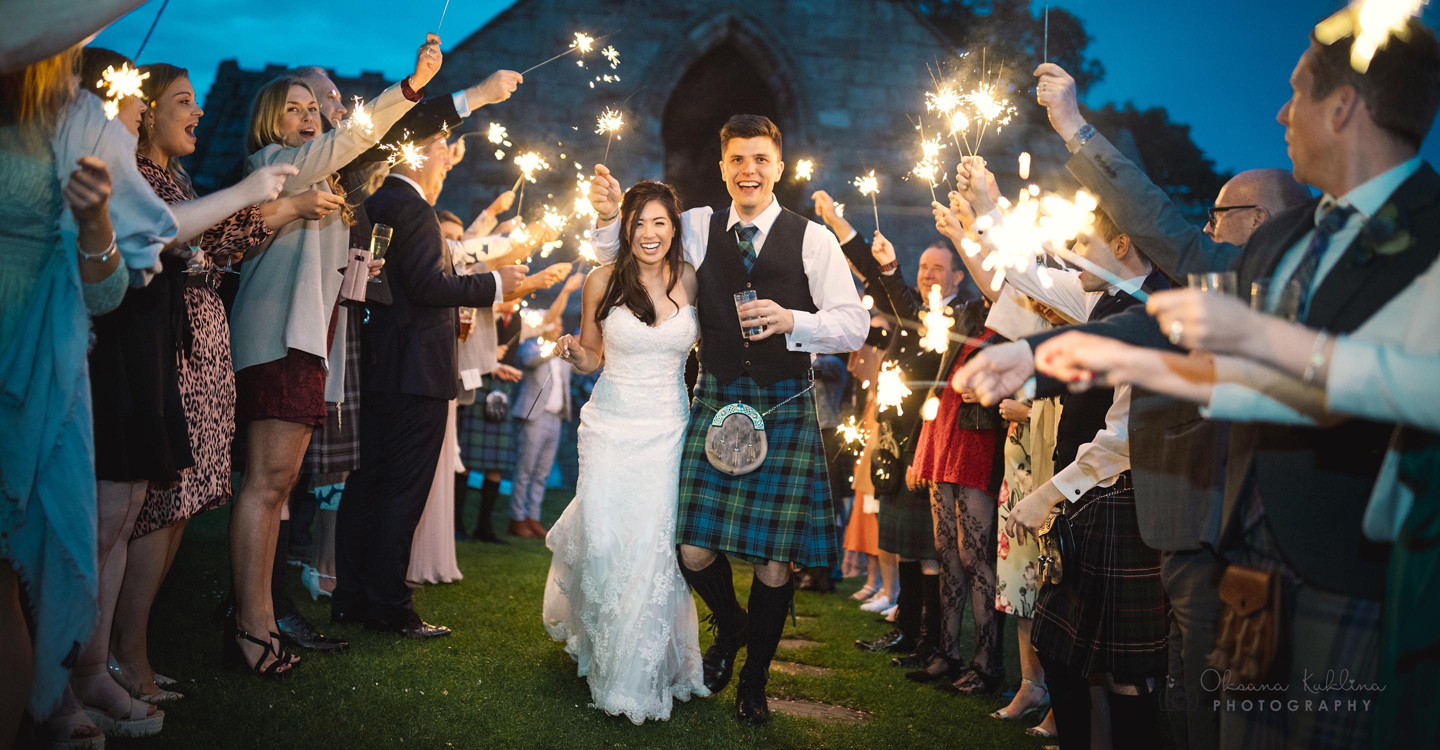Dunglass Estate Wedding Photographer - Alternative Scotland Wedding Photography- Romantic Wedding at Dunglass Estate